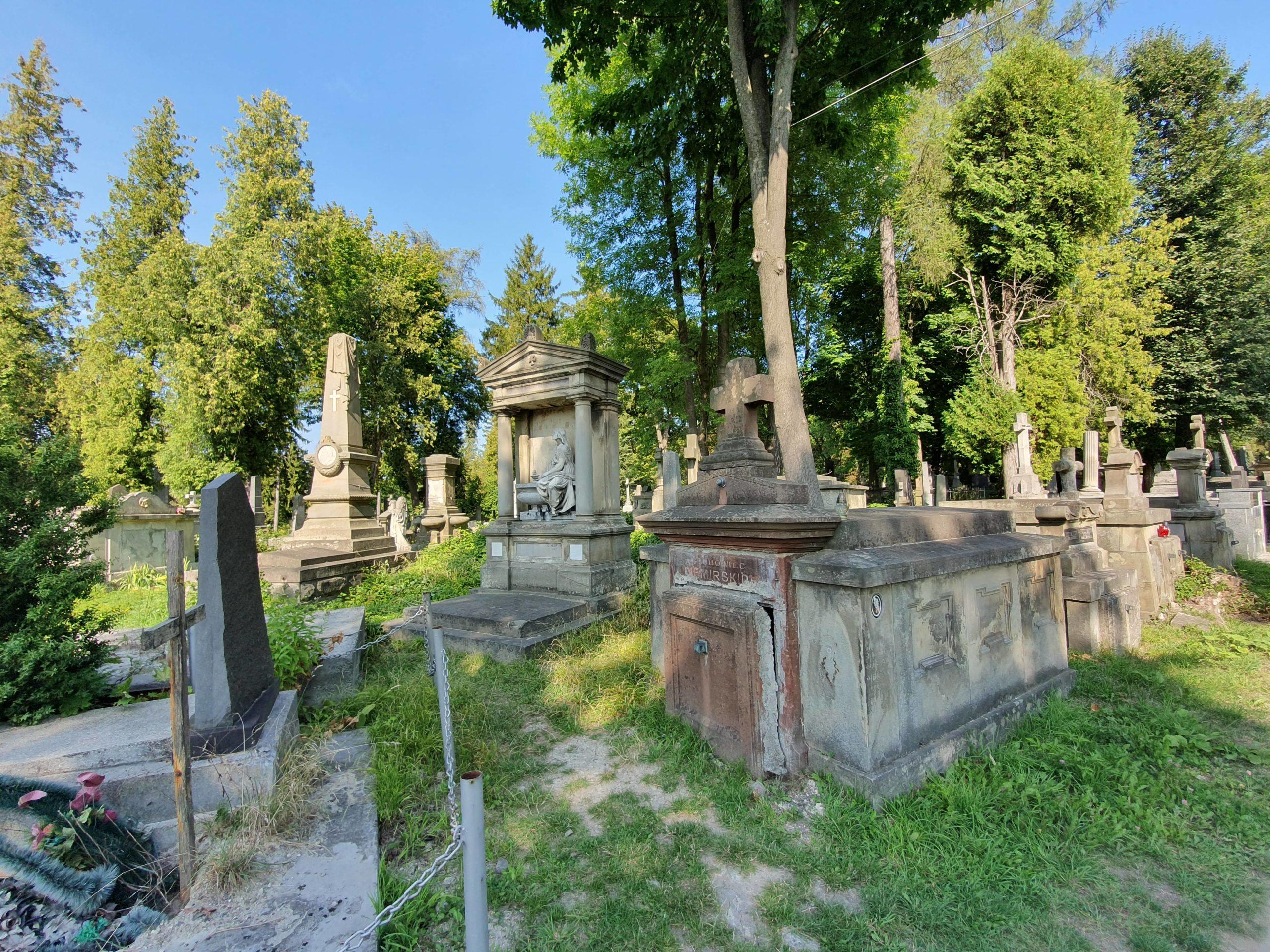 cimetière Lychakiv