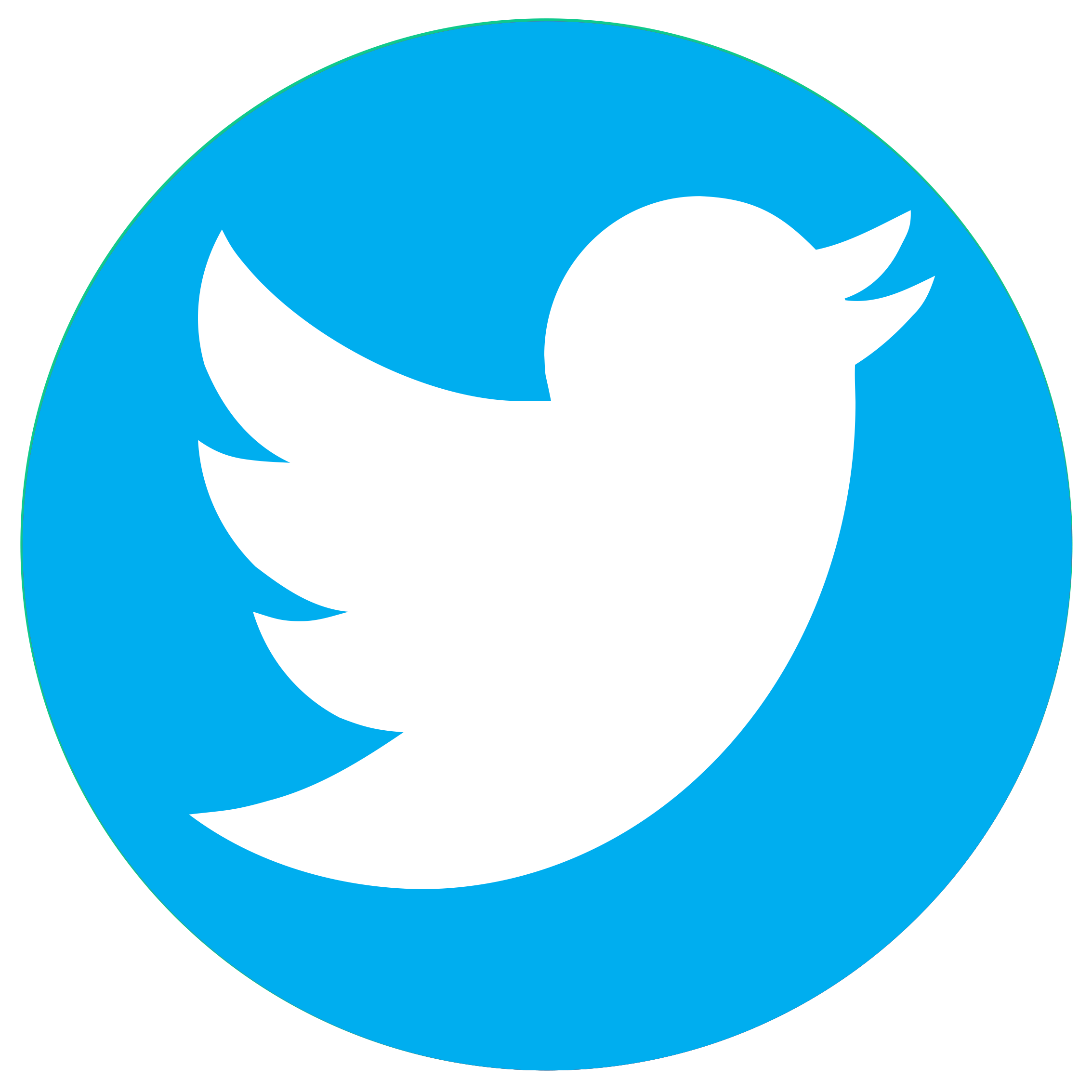 logo rond twitter